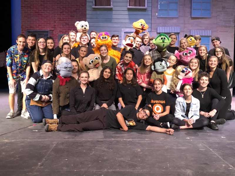 The fabulous crew behind Avenue Q