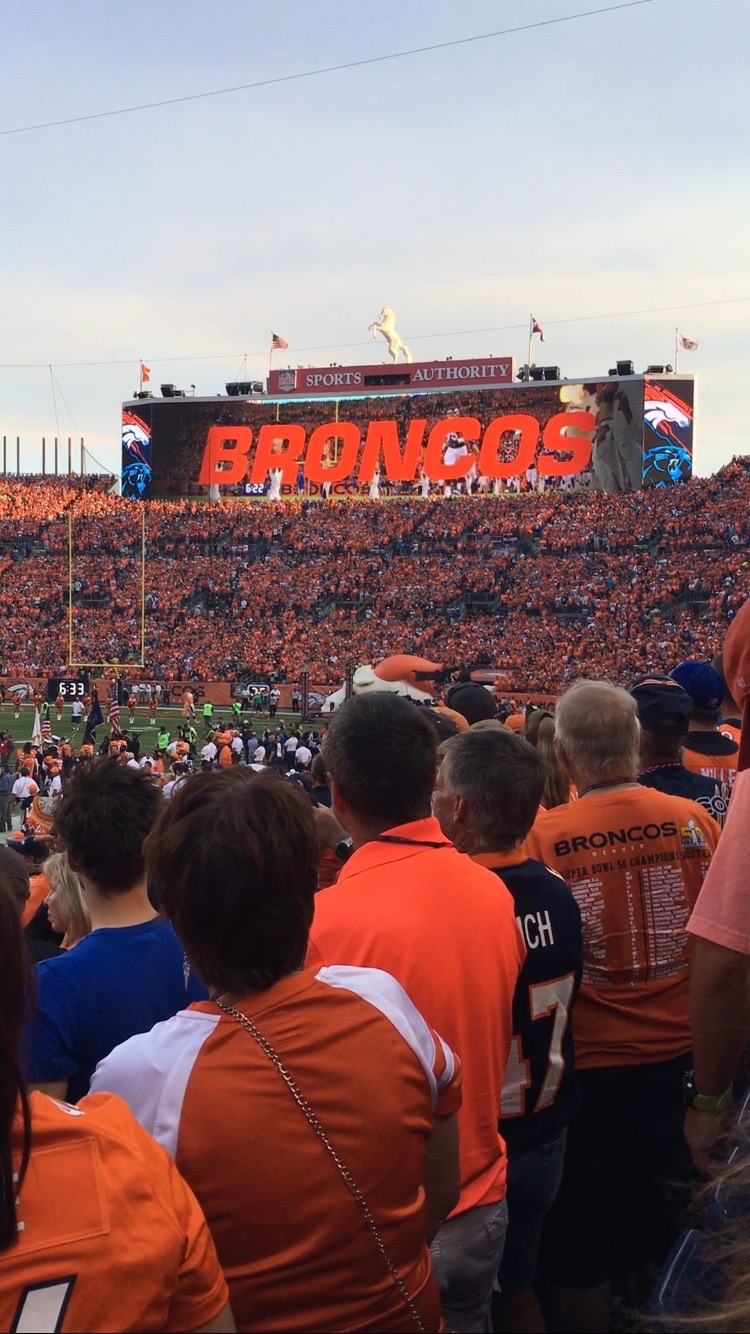 Broncos looking to be victorious in front of their packed home stadium.