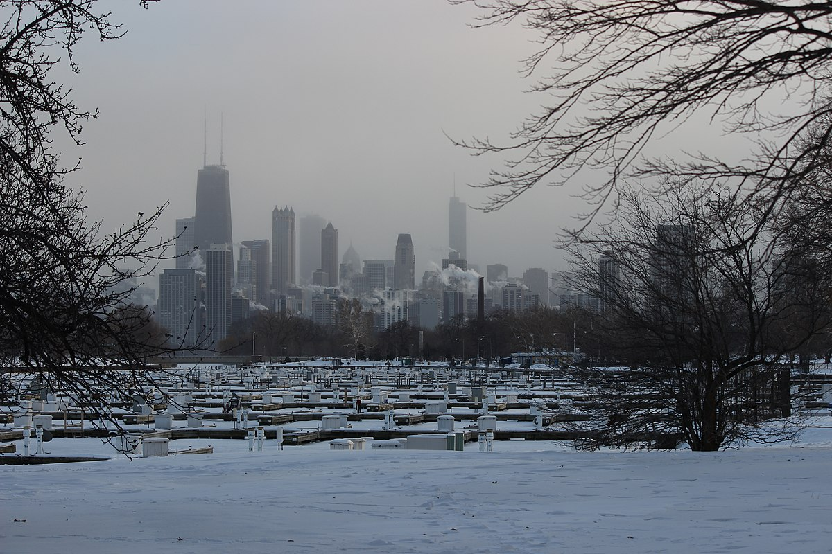 Low temperatures in Chicago set state records