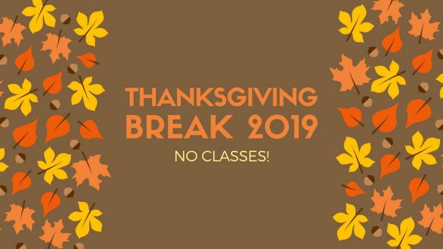 Be Thankful for the Week Long Break