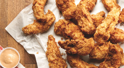 The best nuggets, tenders, and strips around town