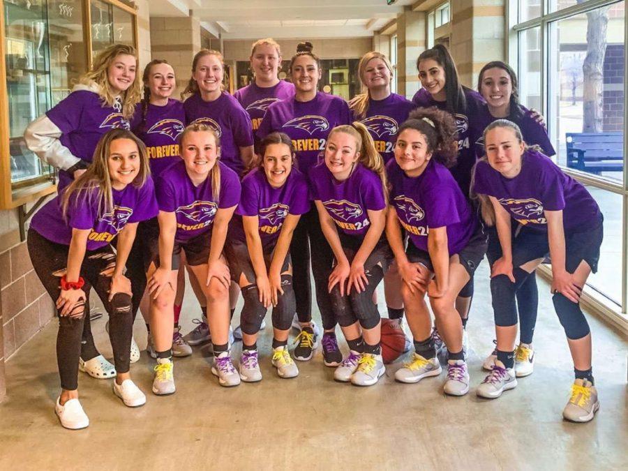 Hawks Girls Basketball Team.