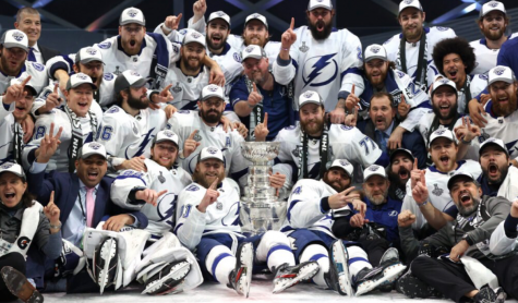 Tampa Bay won game 6 of the Stanley Cup finishing off the series.