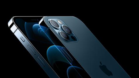 Blue iPhone 12