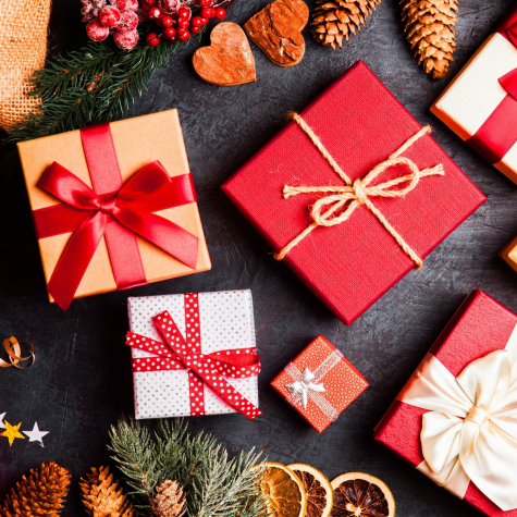 Christmas Presents by George Dolgikh