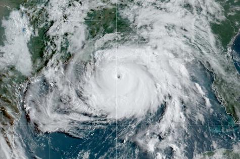 Hurricane Ida Barreling Down the Coast